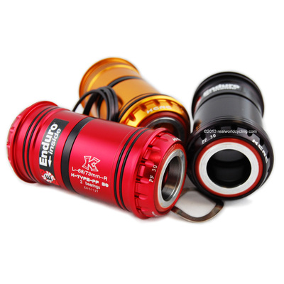 "KCNC PF30 TO GXP ADAPTER BB w/ENDURO ""CH"" CERAMIC HYB A/C Bearings"