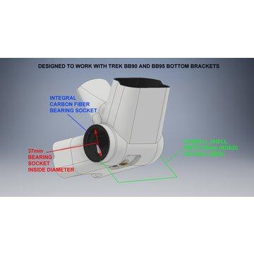 TREK-SPECIFIC (BB90/BB95) GXP CERAMIC ANGULAR CONTACT
