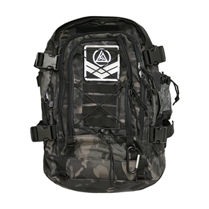 Gracie Expandable Tactical Backpack-(Black Camo)