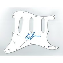 Eric Johnson Signed Guitar Pickguard Certified Authentic Beckett BAS COA