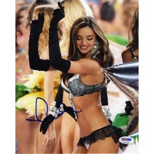 Miranda Kerr Lingerie Victoria's Secret Signed 8x10 Photo Certified Authentic PSA/DNA COA