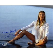 Bo Derek Sexy Signed 8x10 Photo Certified Authentic Beckett BAS COA
