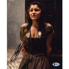Samantha Barks Les Miserables Signed 8x10 Photo Certified Authentic Beckett BAS COA