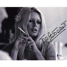 Brigitte Bardot Smoking Signed 8x10 Photo Certified Authentic Beckett BAS COA