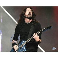 Dave Grohl Foo Fighters Nirvana Signed 11x14 Photo Certified Authentic Beckett BAS COA