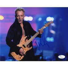 Phil Collen Def Leppard Signed 8x10 Photo Certified Authentic Beckett JSA COA