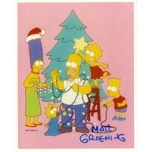 Matt Groening Simpsons Signed 8x10 Photo Certified Authentic PSA/DNA COA