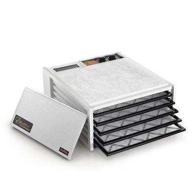 Excalibur 3526TW White 5-Tray Dehydrator, Free Ground Shipping (Cont. US Only)