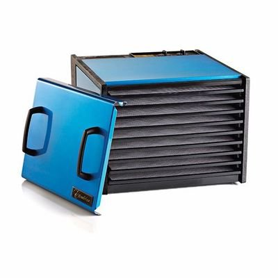 Excalibur D900RB Blue 9-Tray Dehydrator, Free Ground Shipping (Cont. US Only)