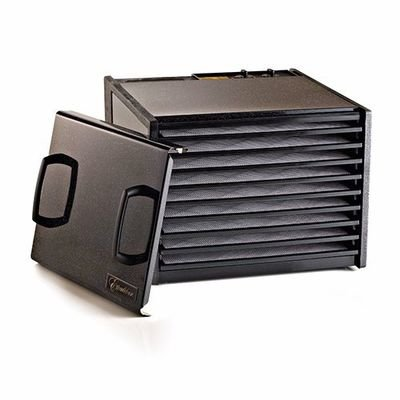 Excalibur D900TB Black 9-Tray Dehydrator, Free Ground Shipping (Cont. US Only)