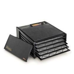 Excalibur 3500B Black 5-Tray Dehydrator, Free Ground Shipping (Cont. US Only)