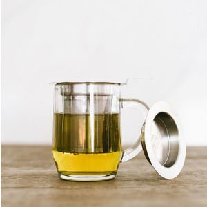 Stainless Steel Infuser Basket & Lid - 18/8