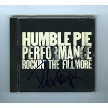 Peter Frampton Humble Pie Signed CD Cover Certified Authentic BAS COA