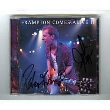 Peter Frampton Comes Alive II Signed CD Cover Certified Authentic JSA COA