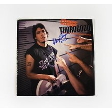 George Thorogood 'Born to be Bad' Signed Record Album LP Certified Authentic JSA COA