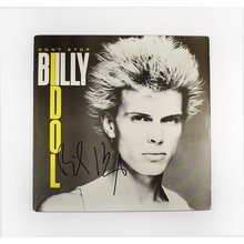 Billy Idol 'Don't Stop' EP Signed Record Album LP Certified Authentic BAS COA