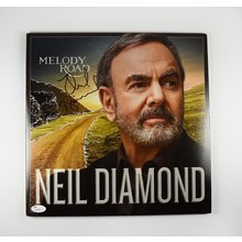 Neil Diamond 'Melody Road' Signed Record Album LP Certified Authentic JSA COA