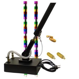 Electric Streamer Cannon with 2 shots of metallic streamers.
