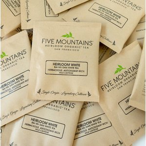 Heirloom White (Bai Mu Dan): 100 Sachets (With Wrapper)