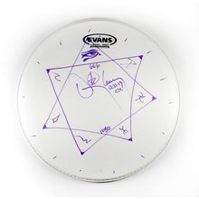 Danny Carey 'Tool' Signed Drumhead Certified Authentic BAS COA