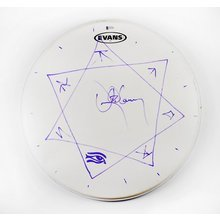 Danny Carey Tool Signed Drumhead Certified Authentic Beckett BAS COA AFTAL