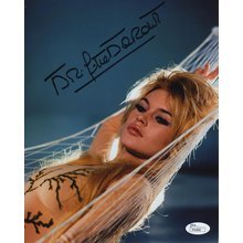 Brigitte Bardot Sexy Signed 8x10 Photo Certified Authentic JSA COA