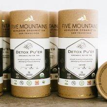 Organic Detox Pu'erh: 6 Tubes/15 Sachets Each *Best By: