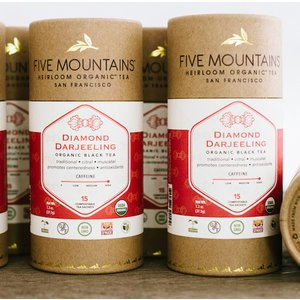 Organic Diamond Darjeeling: 6 Tubes/15 Sachets Each *Best By: