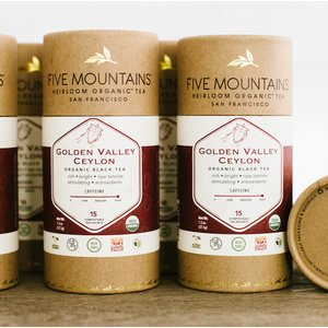 Golden Valley Ceylon: 6 Tubes/15 Sachets Each *Best By: