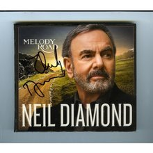 Neil Diamond Melody Road Signed CD Certified Authentic JSA COA