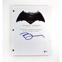 Ben Affleck Batman v Superman Signed Script Certified Authentic BAS COA