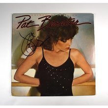 Pat Benatar Signed Record Album LP Certified Authentic JSA COA