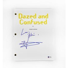 Matthew McConaughey Dazed and Confused Signed Script Certified Authentic BAS COA