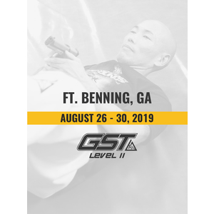 Level 2 Re-Certification: Ft. Benning, GA (August 26-30, 2019)