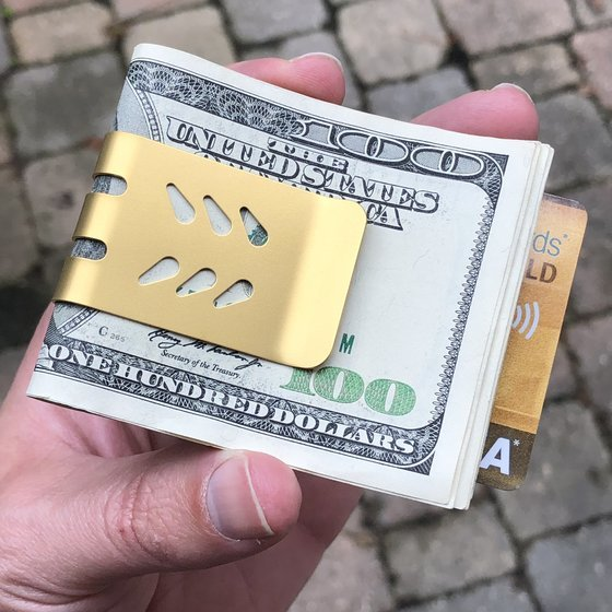 LIMITED EDITION - mini-VIPER™ Money Clip TiN Finish