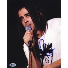 Adam Duritz Counting Crows Signed 8x10 Photo Certified Authentic Beckett BAS COA