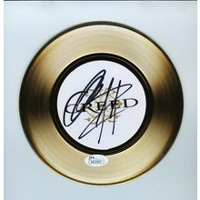 Creed Stapp and Tremonit Signed 45 Gold Record Certified Authentic JSA COA
