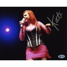 Kate Pierson 'B-52's' Signed 8x10 Photo Certified Authentic BAS COA