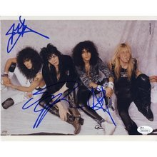 Cinderella Band Signed 8x10 Photo Certified Authentic JSA COA