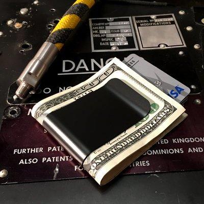 Black Diamond™ Titanium Money Clip