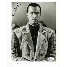 Steven Seagal Signed 8x10 Studio Photo Certified Authentic JSA COA