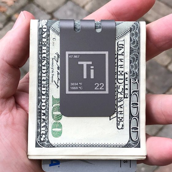 The BADASS™ Titanium Money Clip Series