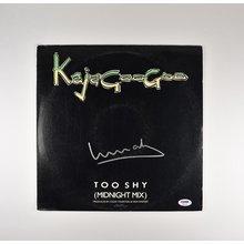 Limahl KajaGooGoo Signed Record Album LP Certified Authentic PSA/DNA COA