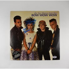 Annabella Lwin Bow Wow Wow Signed Record Album LP Certified Authentic PSA/DNA COA
