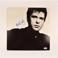 Peter Gabriel So Signed Record Album LP Certified Authentic PSA/DNA COA