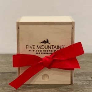 Handcrafted Presentation Box: 1 Slot (Without Tea)