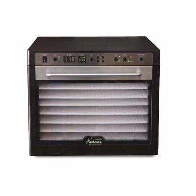 Tribest Sedona Combo SD-P9150-B Dehydrator, 9-Tray 120 Volt - Free Ground Shipping (Cont. US Only)