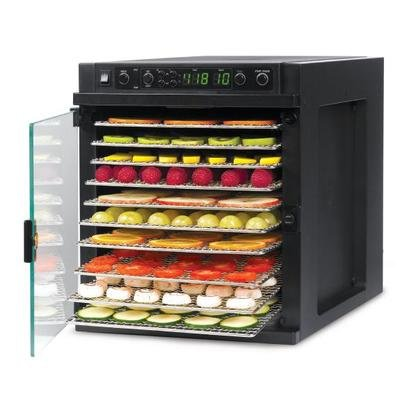 Tribest Sedona Express SDE-S6780 Dehydrator, 11 Stainless Steel Trays, 120 Volt - Free Ground Shipping (Cont. US Only)