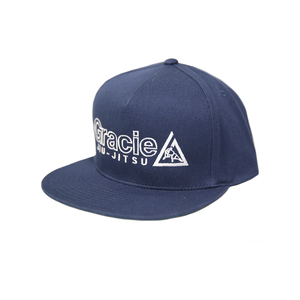 GJJ Embroidered Snapback Hat (Navy)
