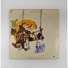 Peter Cetera Chicago Greatest Hits Signed Record Album LP Certified Authentic PSA/DNA COA